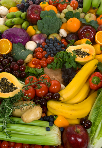 Eat Fruit and Vegetables, Look More Attractive